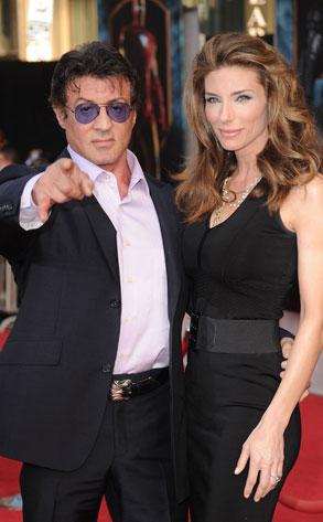 Sylvester Stallone, Jennifer Flavin