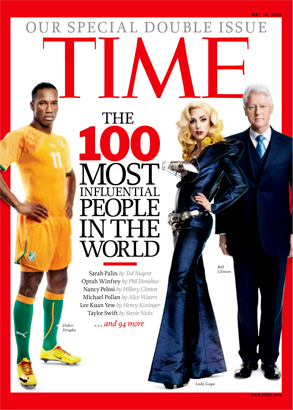 Time Magazine, Cover