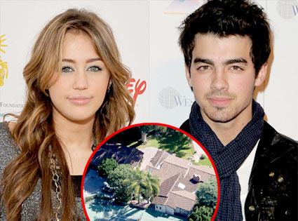 Miley Cyrus, Joe Jonas, Cyrus Estate