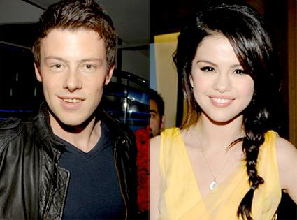 Cory Monteith, Selena Gomez