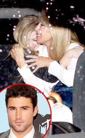 Avril Lavigne, Linda Thompson, Brody Jenner