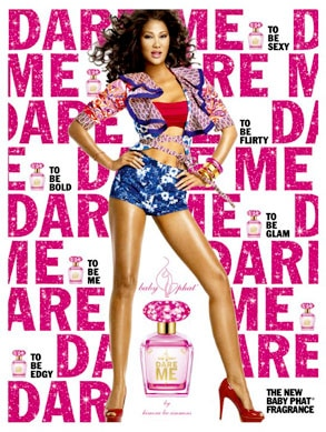 Kimora Lee Simmons, Dare Me, Fragrance Ad
