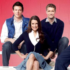 Corey Monteith, Lea Michele, Matthew Morrison, Glee
