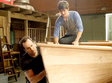 Matt Lanter, Scott Patterson, 90210