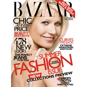 Gwyneth Paltrow, Harper's Bazaar, Cover