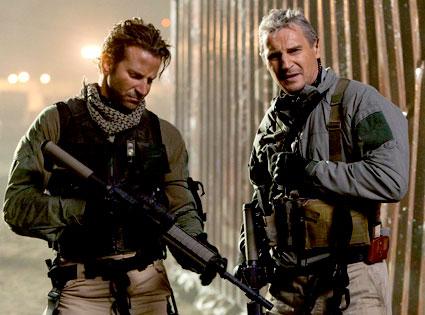 Bradley Cooper, Liam Neeson, A-Team