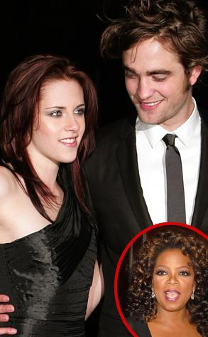 Kristen Stewart, Robert Pattinson, Oprah