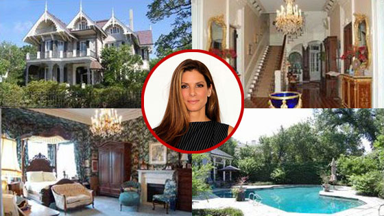 See Inside Sandra Bullock's New House! | E! News