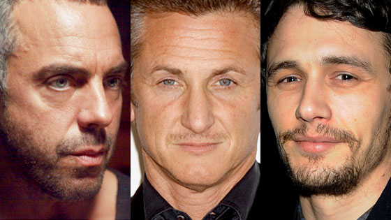 Titus Welliver, Sean Penn, James Franco