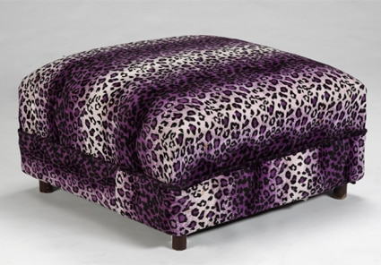 Anna Nicole Auction, Leopard furniture