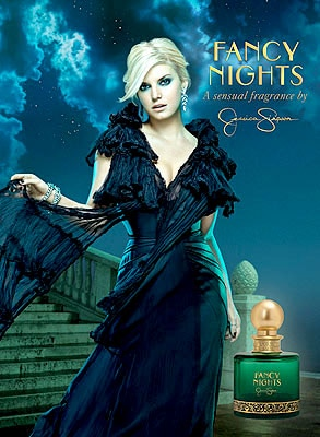 Jessica Simpson, Fancy Nights Ad