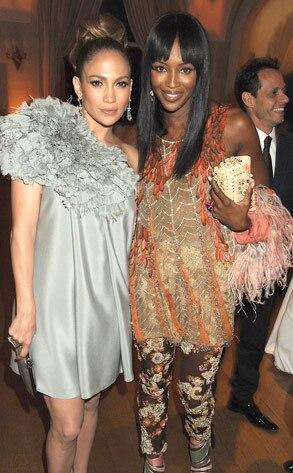 Jennifer Lopez, Naomi Campbell