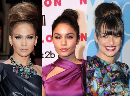 Jennifer Lopez, Vanessa Hudgens, Lea Michele