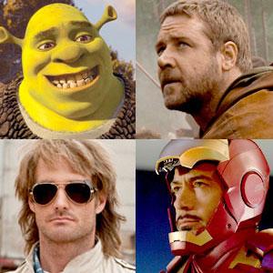 Shrek Forever After, Russell Crowe, Robin Hood, Will Forte, MacGruber, Robert Downey Jr., Iron Man 2