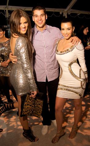 Khloe Kardashian, Robert Kardashian, Kim Kardashian