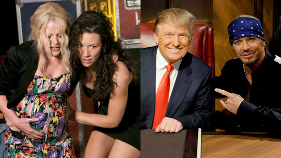 Lost, Emilie de Ravin, Evangline Lilly, Celebrity Apprentice, Donald Trump, Brett Michaels