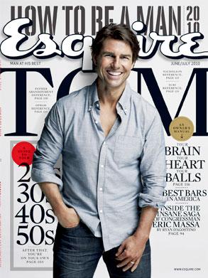 Tom Cruise, Esquire Cover