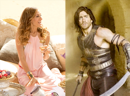 Sarah Jessica Parker, Sex in the City 2, Jake Gyllenhaal, Prince of Persia