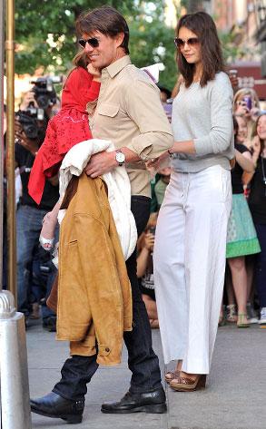 Suri Cruise, Tom Cruise, Katie Holmes