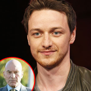 James McAvoy, Patrick Stewart, X-Men
