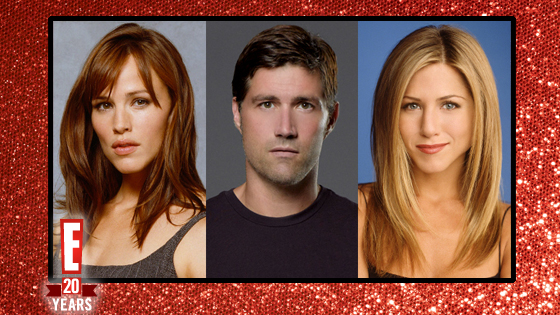 Jennifer Garner, Alias, Matthew Fox, Lost, Jennifer Aniston, Friends