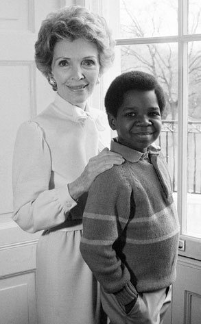 Nancy Reagan, Gary Coleman