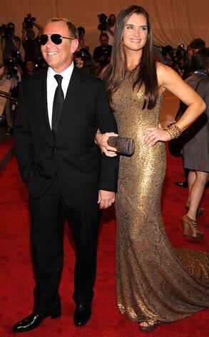 Brooke Shields, Michael Kors