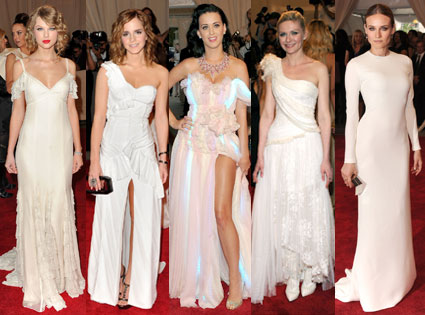 Taylor Swift, Emma Watson, Katy Perry, Kirsten Dunst, Diane Kruger