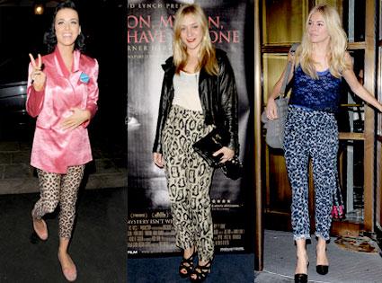 Katy Perry, Chloe Sevigny, Sienna Miller