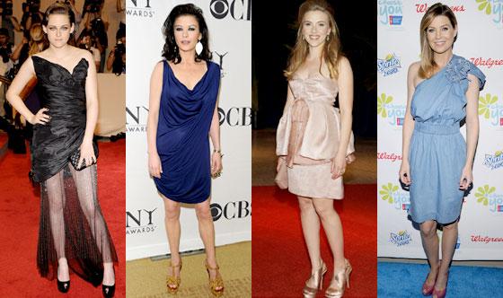 Kristen Stewart, Catherine Zeta-Jones, Scarlett Johansson, Ellen Pompeo