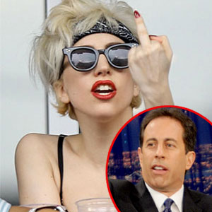 Lady Gaga, Jerry Seinfeld
