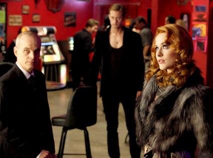 Zeljko Ivanek, Alexander Skarsgard, Evan Rachel Wood, True Blood