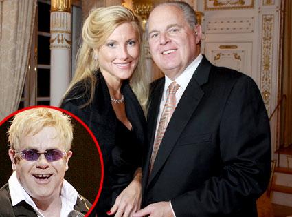Kate Rogers, Rush Limbaugh, Elton John