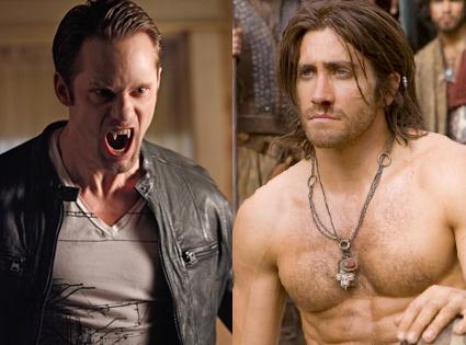 Alexander Skarsgard, True Blood, Jake Gyllenhaal, Prince of Persia