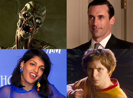 Fallout 3, Jon Hamm, Mad Men, M.I.A., Michael Cera, Scott Pilgrim vs. the World