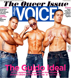 Village Voice Cover, Jersey Shore