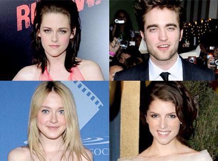 Kristen Stewart, Dakota Fanning, Robert Pattinson, Anna Kendrick