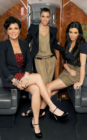 Kris Jenner, Kourtney Kardashian, Kim Kardashian