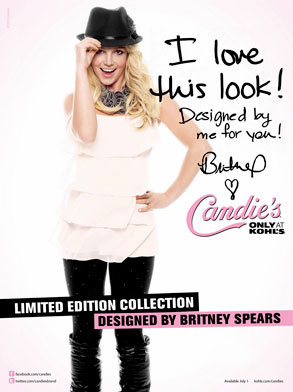 Britney Spears, Candie's Clothing Line