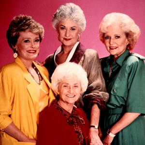 Rue McClanahan, Bea Arthur, Estelle Getty, Betty White, Golden Girls