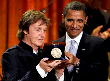 Barack Obama, Paul McCartney