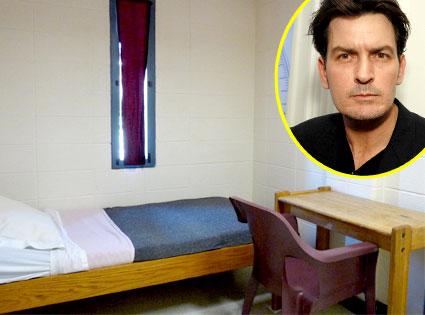 Pitiken County Jail, Charlie Sheen