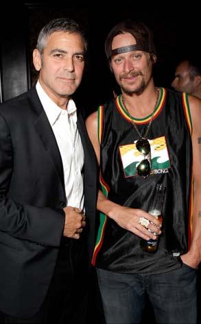 George Clooney, Kid Rock
