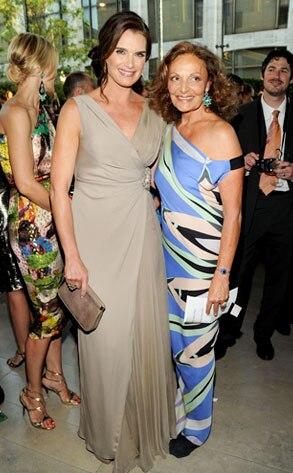 Brooke Shields, Diane von Furstenberg