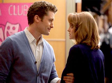 Glee, Matthew Morrison, Jayma Mays