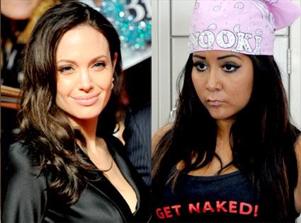 Angelina Jolie, Nicole 'Snooki' Polizzi