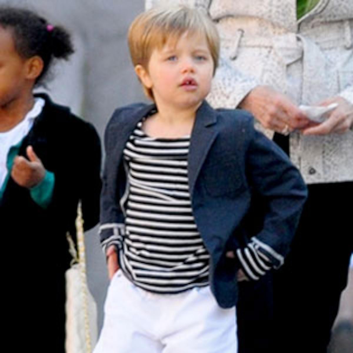 "Angelina Jolie Defends Shiloh's ""Montenegro"" Style - E! Online"