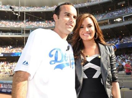 Landon Donovan, Demi Lovato