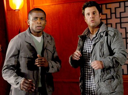 Psych, Dule Hill, James Roday
