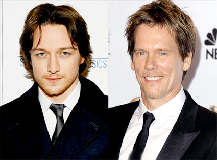 James McAvoy, Kevin Bacon